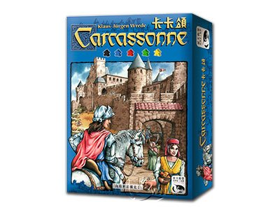 Carcassonne-Chinese Language Edition