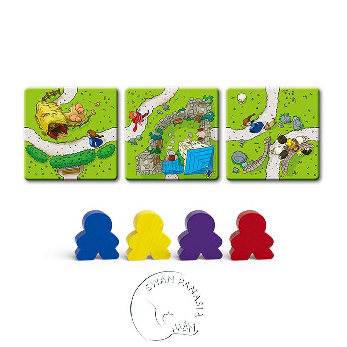 卡卡頌兒童版 Carcassonne Kids -中文版