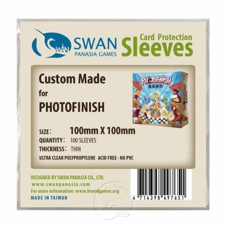 紙牌保護套 - 10*10cm (100*100mm)-終點攝影-最後衝刺PhotoFinish適用