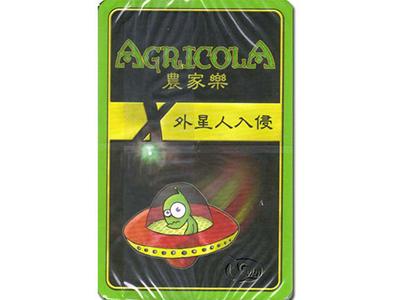 農家樂:X-外星人入侵擴充 Agricola: X-Deck-繁體中文版