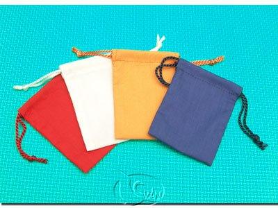 手工棉布袋 - 4色7*10cm(卡坦島適用)