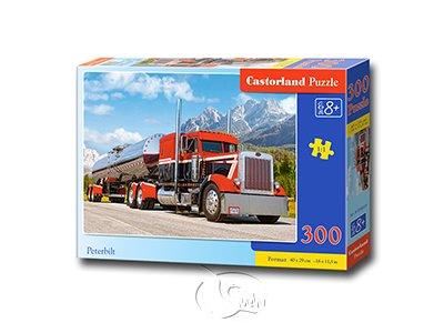 【Castorland拼圖-0300片】彼得比爾特-擎天柱卡車-柯博文Peterbilt