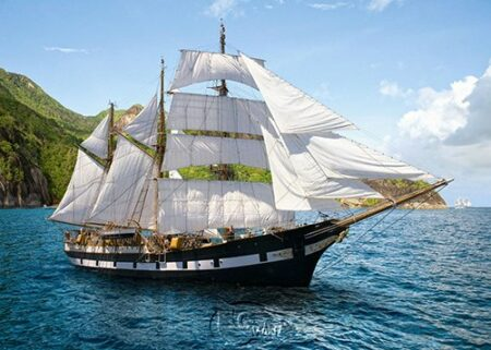 【Castorland拼圖-0500片】晴朗的出航Sunny Voyage