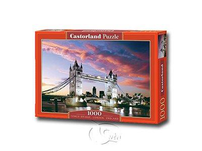 【Castorland拼圖-1000片】倫敦塔橋Tower Bridge, London, England