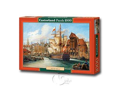 【Castorland拼圖-1000片】舊格但斯克The Old Gdansk