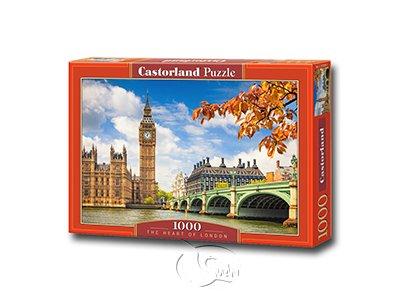 【Castorland拼圖-1000片】倫敦之心The Heart of London