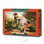 【Castorland拼圖-1000片】玫瑰園的女孩At The Rose Garden