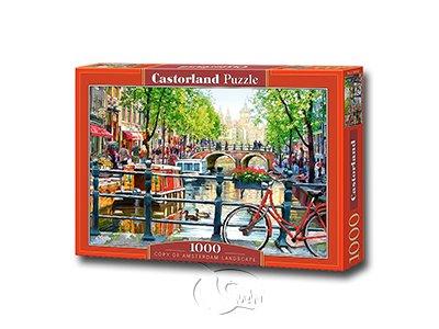 【Castorland拼圖-1000片】阿姆斯特丹一角Amsterdam Landscape