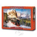 【Castorland拼圖-1000片】蒸汽火車Steam Train