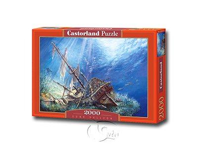 【Castorland拼圖-2000片】海底沉船Sunk Galleon