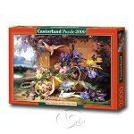 【Castorland拼圖-2000片】Eugene Bidau:靜物與鮮花Elegant Still Life with Flowers