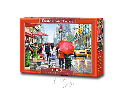 【Castorland拼圖-2000片】紐約街角一景New York Cafe