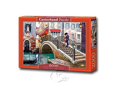 【Castorland拼圖-2000片】威尼斯橋的浪漫Venice Bridge