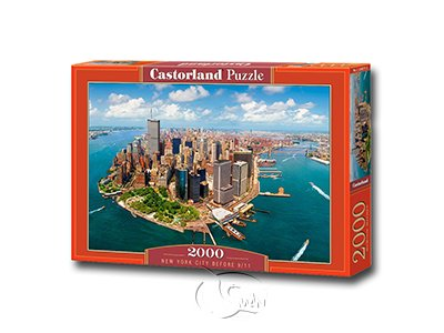 【Castorland拼圖-2000片】璀璨紐約New York City before 9/11