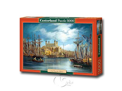 【Castorland拼圖-3000片】啟航New Day at the Harbour