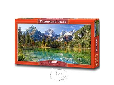 【Castorland拼圖-4000片】神聖山嶺Majesty of the Mountains