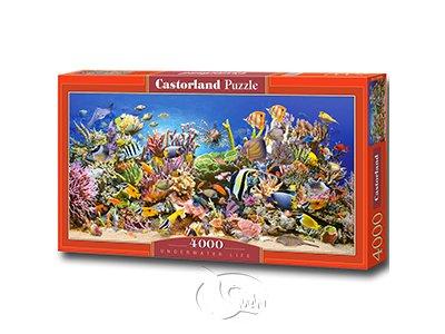 【Castorland拼圖-4000片】水底世界Underwater life