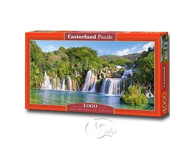 【Castorland拼圖-4000片】克羅地亞的克爾卡瀑布Krka Waterfalls, Croatia