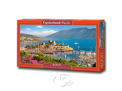 【Castorland拼圖-4000片】博德魯姆碼頭Bodrum Marina, Turkish Riviera