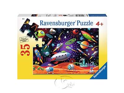【Ravensburger拼圖-35片】炫麗的宇宙太空Space