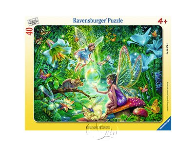 【Ravensburger-兒童紙板拼圖-40片】魔法妖精Magic Fairy