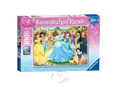 【Ravensburger-大拼片拼圖-100XXL片】迪士尼歷代公主Disney Princess: Princess