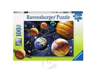 【Ravensburger-大拼片拼圖-100XXL片】美麗的外太空星球Space