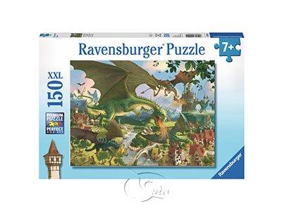 【Ravensburger-大拼片拼圖-150XXL片】噴火龍的旅程Journey of the dragons