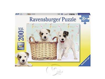 【Ravensburger-大拼片拼圖-200XXL片】忠誠的朋友Cheeky Friends