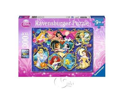 【Ravensburger-大拼片拼圖-300XXL片】公主畫廊Disney: Gallery of the Princesses