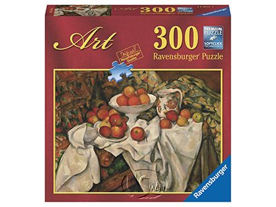 【Ravensburger拼圖-300片】塞尚:蘋果和柳橙的靜物Cezanne: Still Life with Apples and Oranges