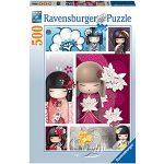 【Ravensburger拼圖-500片】日本娃娃Kimmidoll Collection