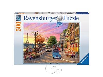 【Ravensburger拼圖-500片】巴黎晚霞Davison: A Paris Evening