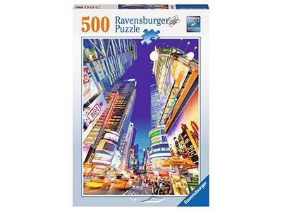 【Ravensburger拼圖-500片】時代廣場夜景luminous times square