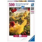 【Ravensburger拼圖-500片】食物造景:鳳梨長城La Grande Muraglia di ananas