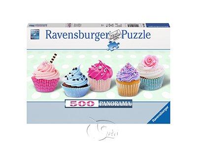 【Ravensburger-全景拼圖-500片】杯子蛋糕Cupcakes