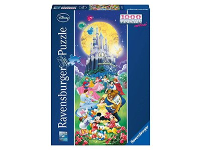【Ravensburger-全景拼圖-1000片】迪士尼城堡Disney: Castle