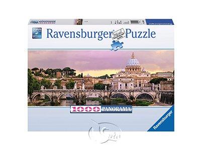 【Ravensburger-全景拼圖-1000片】羅馬美景Rome