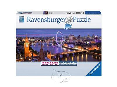 【Ravensburger-全景拼圖-1000片】倫敦夜景London