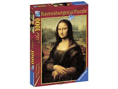 【Ravensburger拼圖-1000片】達文西:蒙娜麗莎的微笑Leonardo da Vinci: Mona Lisa