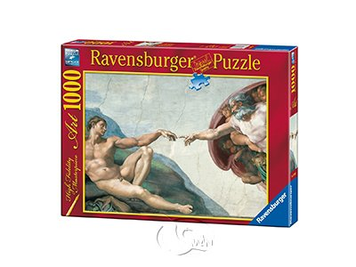 【Ravensburger拼圖-1000片】米開朗基羅:創造亞當Michelangelo: The Creation of Adam