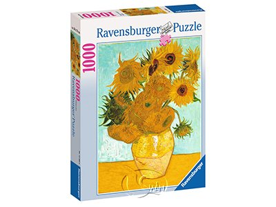 【Ravensburger拼圖-1000片】梵谷:向日葵Van Gogh: Sunflowers