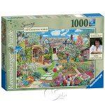 【Ravensburger拼圖-1000片】春季園藝世界Gardening World Spring