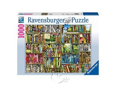 【Ravensburger拼圖-1000片】魔法書櫃The Bizarre Bookshop