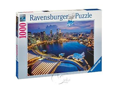 【Ravensburger拼圖-1000片】新加坡天際線Skyline of Singapore