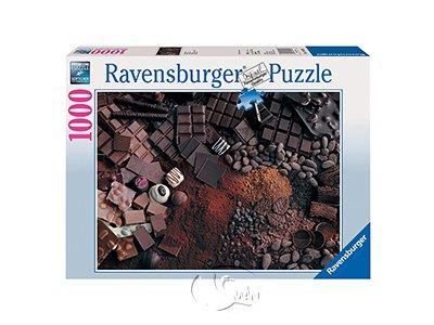 【Ravensburger拼圖-1000片】各種巧克力Chocolate