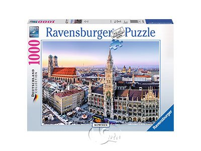 【Ravensburger拼圖-1000片】德國慕尼黑Munchen