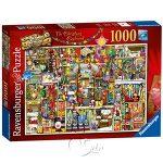 【Ravensburger拼圖-1000片】聖誕櫥櫃Thompson: The Christmas Cupboard
