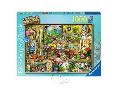 【Ravensburger拼圖-1000片】園丁的櫥櫃The Gardener`s Cupboard