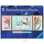 【Ravensburger拼圖-1000片】鄉村花卉Country Flowers